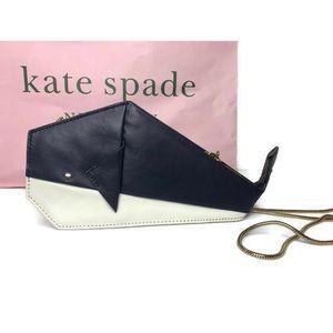 Kate Spade Origami Whale 🐳 Super Rare Clutch Bag